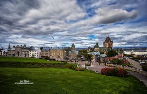 Quebec city by IgorGlavas