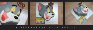 Tom and Jerry cake by elainewhy