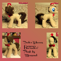 Doctor Whooves for the Travelling Pony Museum! by mousenet