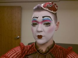 Stage makeup by MistressCakes