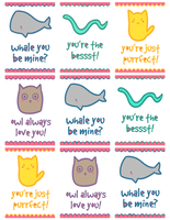 2012 - Valentine's Day Card Set by themarvelgirl