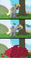 Derpy's Way of AppleBucking by CrackerNut
