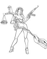 Lady Justice by Bradleyo