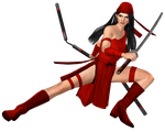MrUncleBingo's Elektra for XNALara/XPS by XNALara-Fanatic