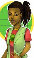 Planeteers gender bender Kwase by Glory-Day