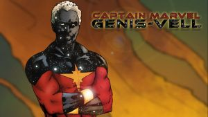 Captain Marvel - Genis-Vell by iamherecozidraw