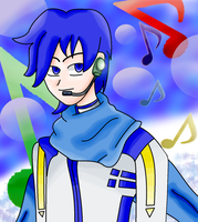 Vocaloid Kaito by 1LoveDrew