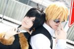 Welcome to Ikebukuro - Shizuo and Izaya by AndrewsSchmidt