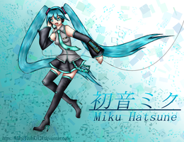 Miku Hatsune - Tell Your World (REDRAW) by MarieyeohKH24