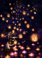 Lantern Party by Leaf-19
