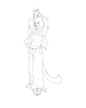 NukaTiger Goes shopping WIP by jan-michael9500