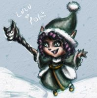 Howling Abyss Lulu by Draw4life
