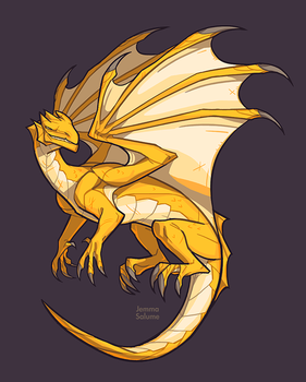 Yellow Dragon by oxboxer