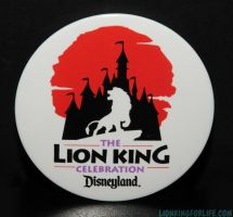Lion King Celebration Disneyland Castmember Pin by LionKingForLife