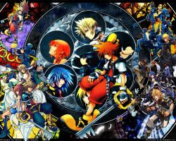 Kingdom Hearts collage by EternalLightEngine