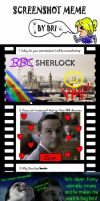 Sherlock Screenshot Meme by DeductiveAndroid