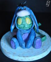 Amumu dressed up as Eeyore by MeggieEris