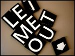 Magnet Letters by LittlePunkPixie