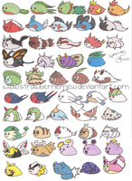 Mameshiba Pokemon Project 7 by StrawberrieMew