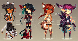 [ADOPT AUCTION] kemonomimi bbs - #3 OPEN! by mintbuns