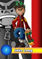 Card 1- Jake Long by AmazingEGJ