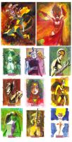 Women Of Marvel by markmchaley