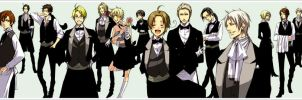 Hetalia Host Club by Clydepuppy