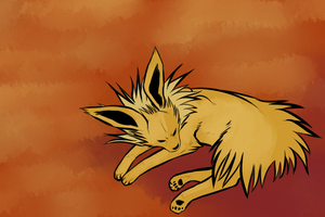 Jolteon by lazy-procrastinator