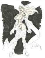 Pheonix five - Emma Frost by jbugx