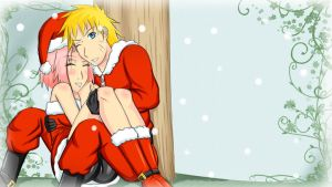 holiday wishes_narusaku by ashmaykissy3