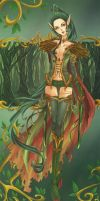 Forest warrior by elotta