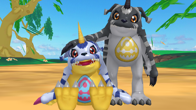 Gabumon (Cyber Sleuth) Polished by GuilTronPrime