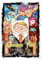Adventure Time and the Boy Who Lived by drawingsbynicole