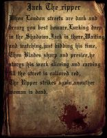 Jack The Ripper by Ray4359