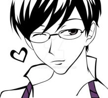 Host Club: Kyoya Ohtori by Vashtastic