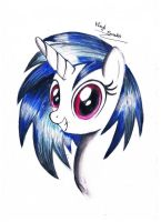 Vinyl Scratch by koniareczka10