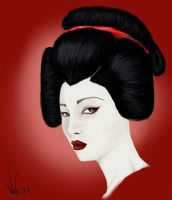 The Geisha by Valeharris