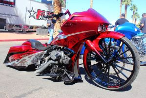 Red Tribal Bagger by DrivenByChaos