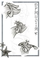 Music Notes flash sheet by dfmurcia
