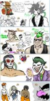 iScribble Session - Luchadores Are Everywhere by DullVivid