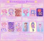 Commission Price Sheet by miss-octopie