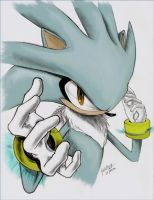 -+- .Silver.The Hedgehog -+- by hito-paiike