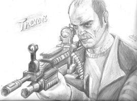 Trevor Philips (GTA V) by MeLiNaHTheMixed