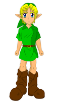 Young Link by spikerman87