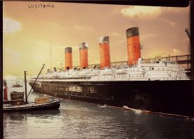 The Golden Sunrise by RMS-OLYMPIC
