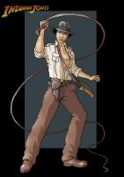 indiana jones by nightwing1975