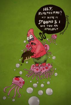 patrick star's apology by DayDreamingLolly