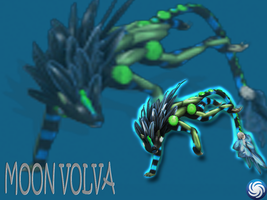 Spore Moon Volva Poster by androidhellhound