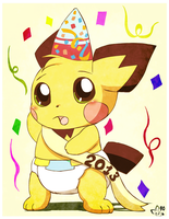Happy New Years Sparks by pichu90