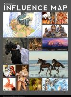Influence map by Aomori
